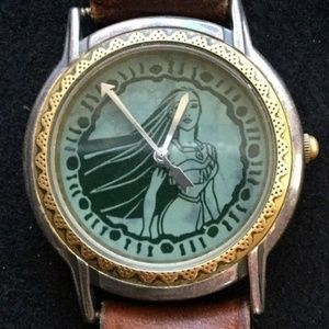 DISNEY POCAHONTAS FOSSIL WATCH DISNEY STORE